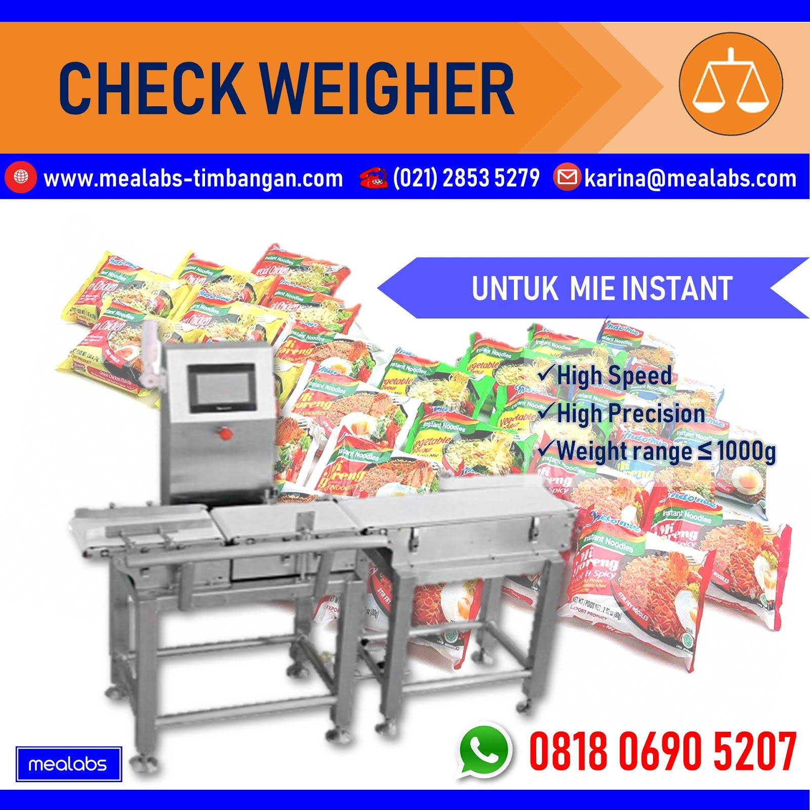 Checkweigher Mie Instant