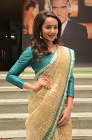 Tejaswi Madivada looks super cute in Saree at V care fund raising event COLORS ~  Exclusive 089.JPG