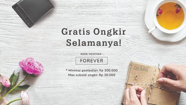 gratis ongkir qlapa.com