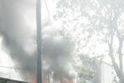 Warteg di Sawah Lio Terbakar, Diduga Akibat Korsleting Listrik