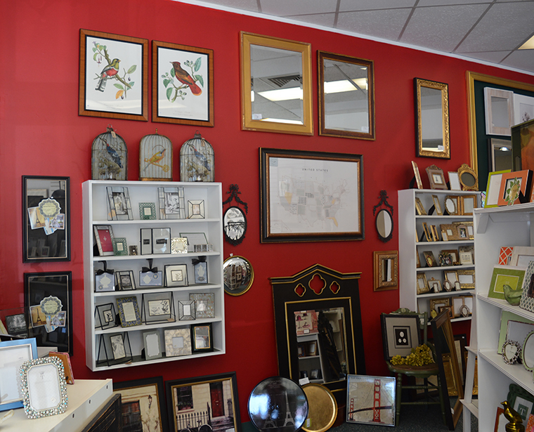 Frames and Company: Mirrors, Small Frames and Gifts