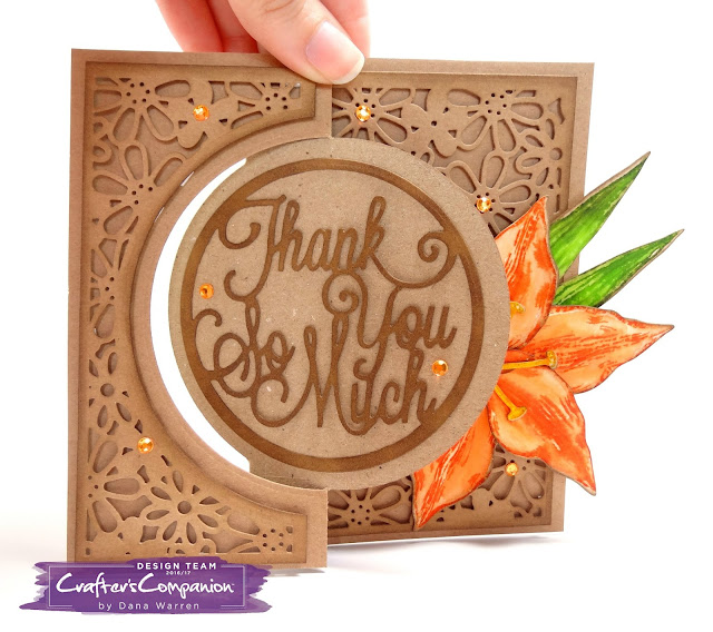 Dana Warren -Kraft Paper Stamps - Crafter's Companion