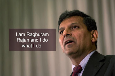 The Out Going Reserve Bank Governor Raghuram Rajan