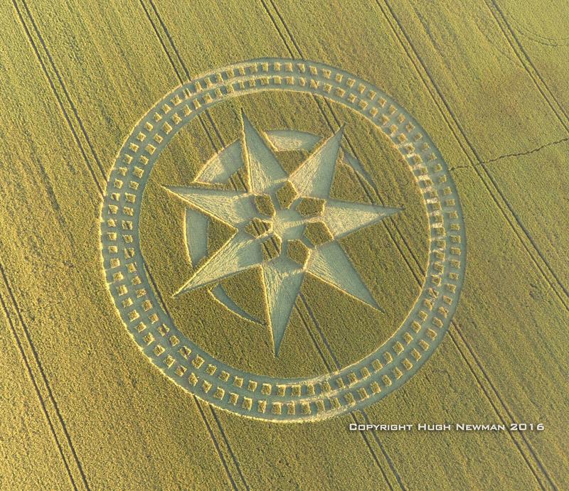 Reportan impresionante crop circle cerca de Stonehenge