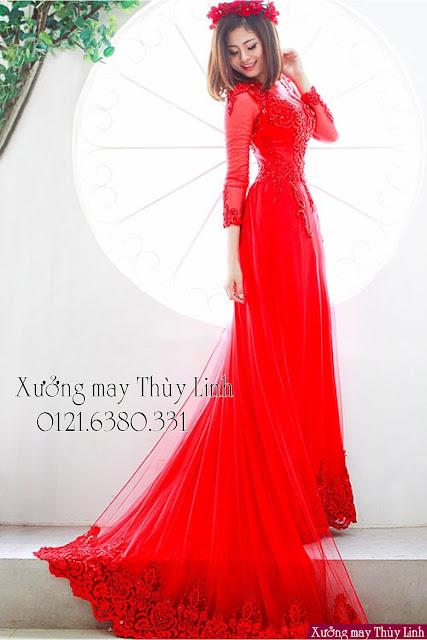 TOP 5 mẫu may áo dài đẹp nhất 2018