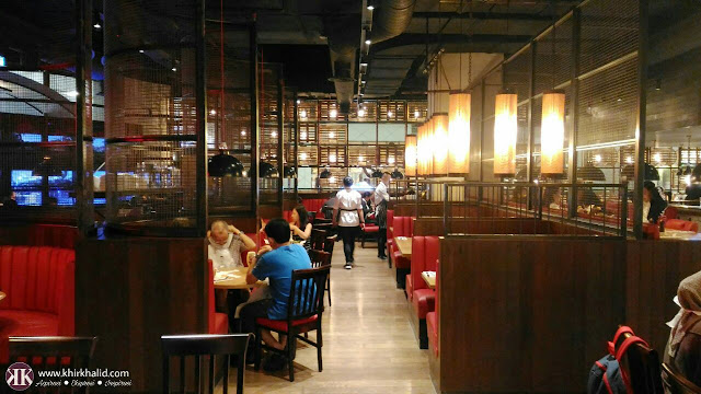 Burger & lobster sky avenue, Resorts World Genting, interior,