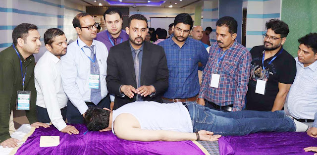 Organizing Physiotherapy Workshop on Manipulation Techniques in Faridabad