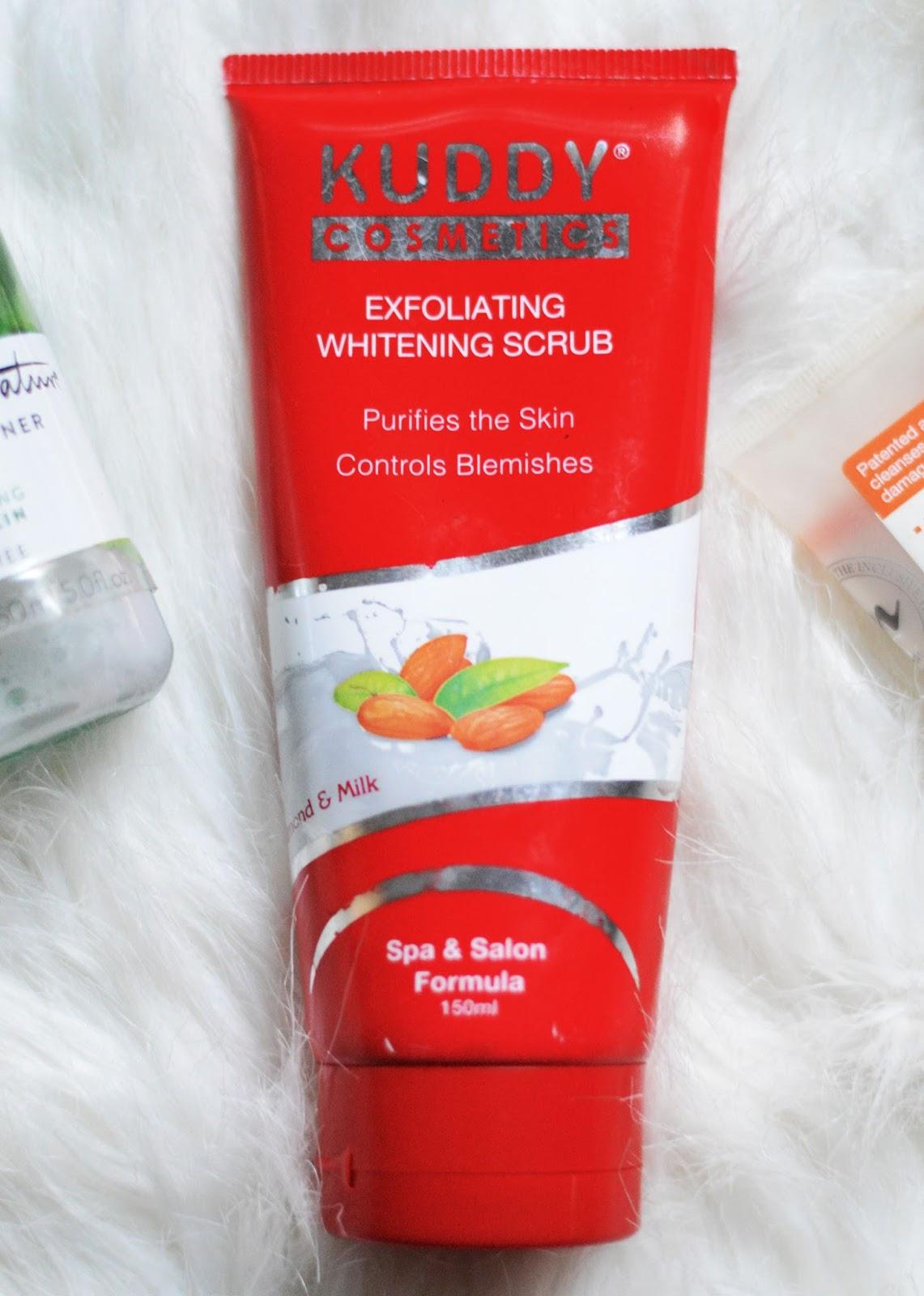 Kuddy_cosmetics_exfoliating_whitening_scrub