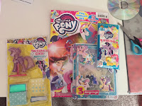 New UK MLP Magazine with Posters and Twilight Sparkle Mannequin