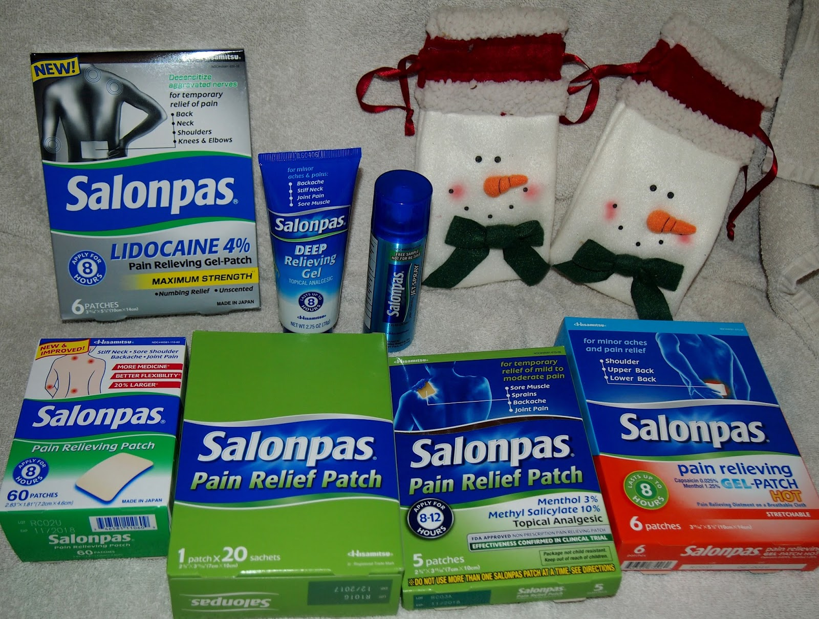 Heck of a bunch ease the pain with salonpas review and for Salonpas lidocaine 4