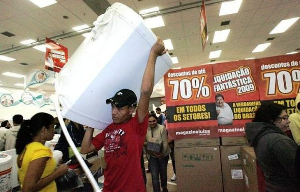 liquida%25C3%25A7%25C3%25A3o%2Bmagazine%2Bluiza Saldão Ponto Frio e Ricardo Eletro