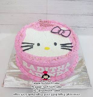 Cupcake Hello Kitty Buttercream