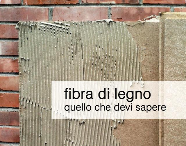 fibra di legno isolamento termico