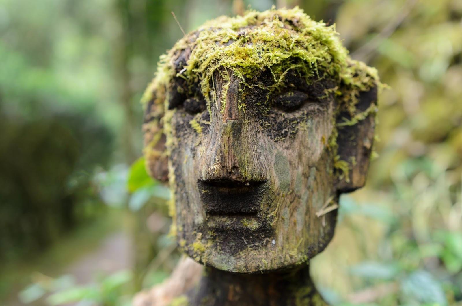 Bulul Fertility Carved Wooden Figure