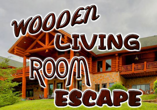 EightGames Wooden Living Room Escape