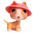 Littlest Pet Shop 3-pack Scenery Bull Terrier (#860) Pet
