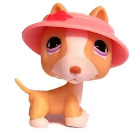 Littlest Pet Shop 3-pack Scenery Bull Terrier (#860) Pet