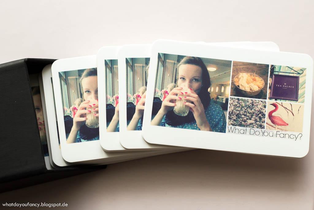Meine Blog-Visitenkarten von MOO