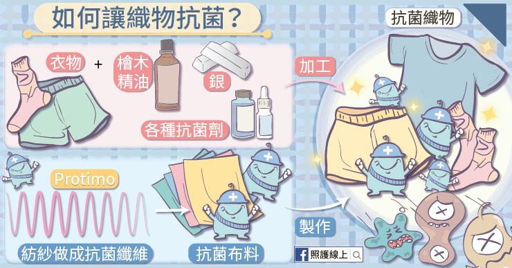 為何衣物能夠抗菌?