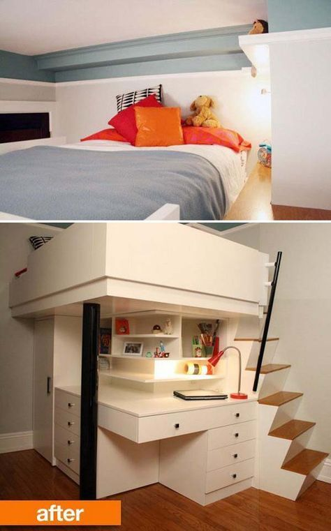 Kids Room Designs For Small Spaces: The Best 20 Bedroom Storage Ideas For Small Room Spaces