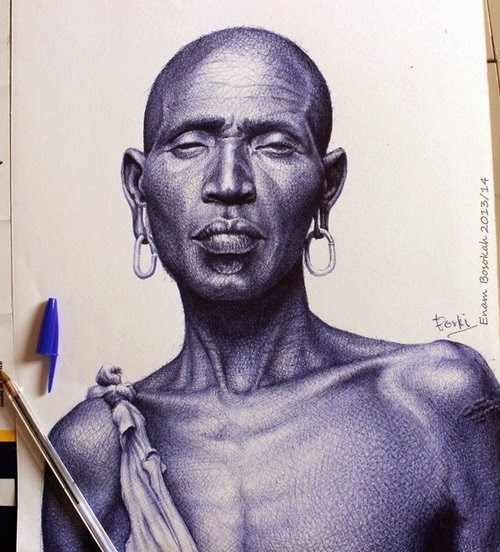 06-Life-Portrayed-by-a-Ballpoint-Pen-Enam Bosokah-www-designstack-co