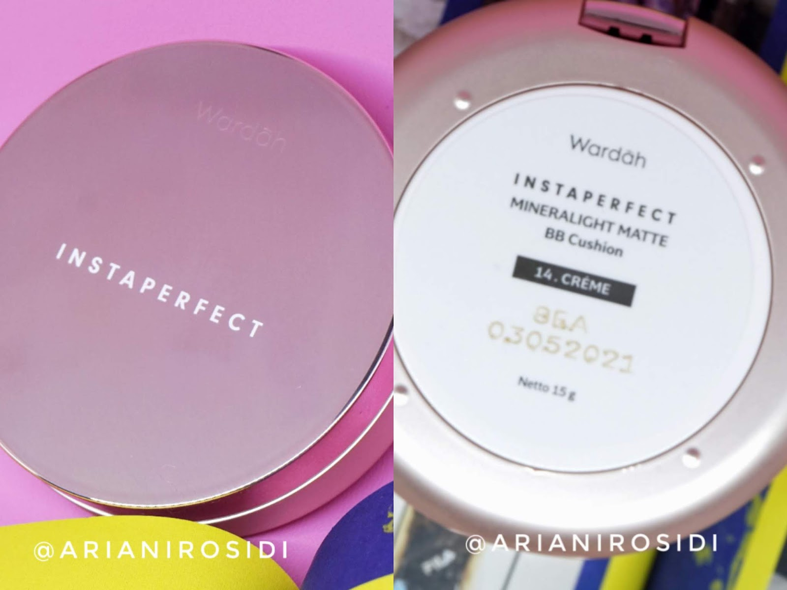 WARDAH INSTAPERFECT MINERALIGHT MATTE BB CUSHION REVIEW