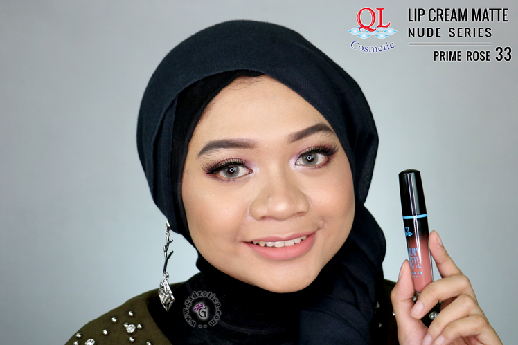 QL Lip Cream Matte 33 Prime Rose