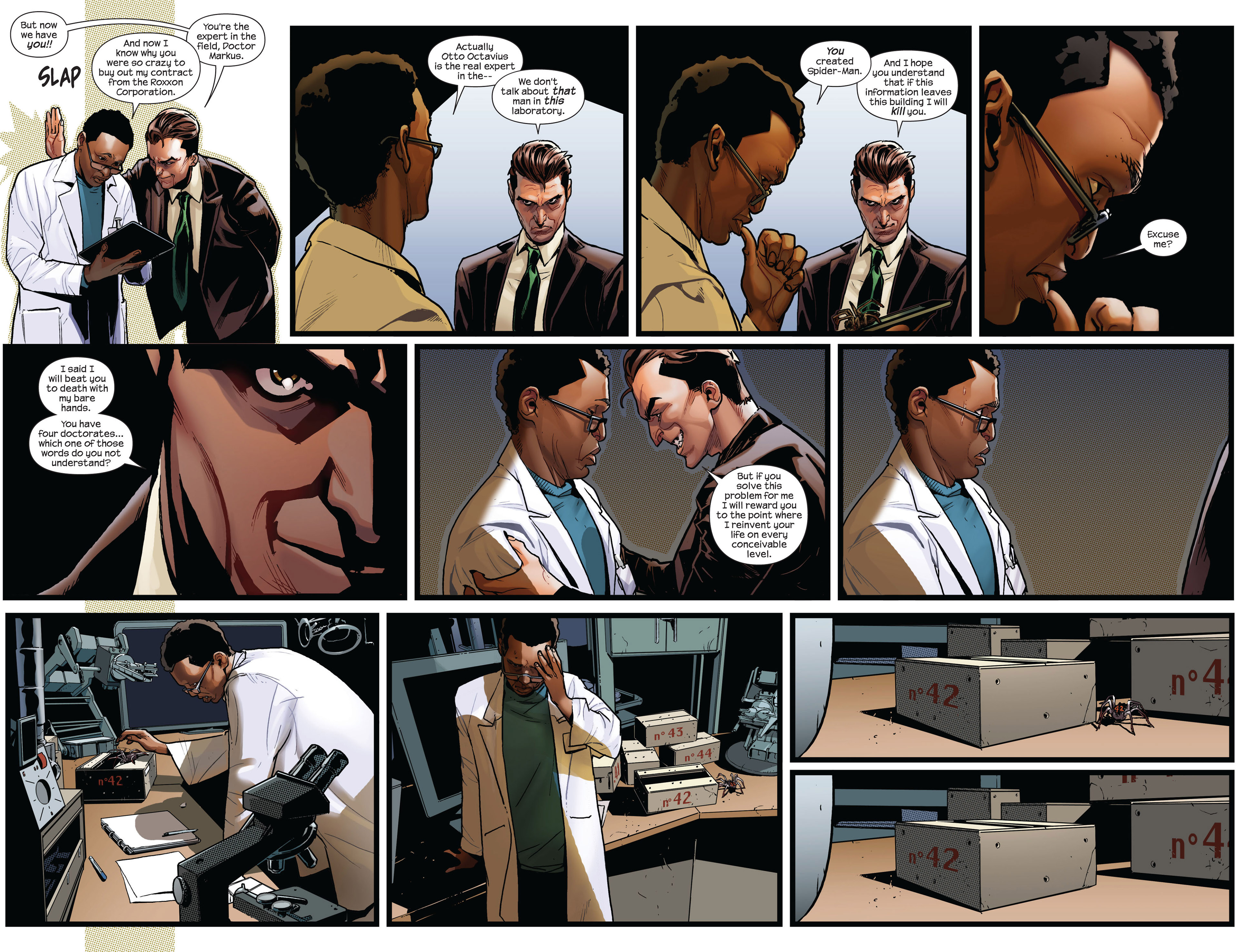 Read online Ultimate Comics Spider-Man (2011) comic -  Issue #1 - 4