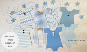 Baby Onesie Banner that's Perfect for Baby Showers