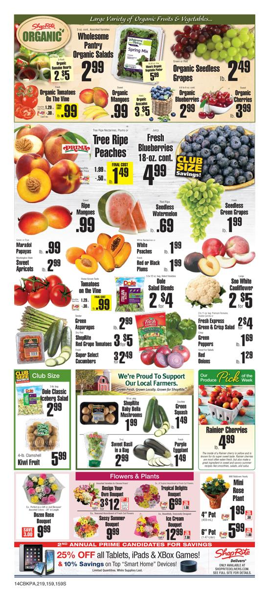 Find the latest weekly circular ad & Sunday flyer for ShopRite here. Also, save with coupons and the latest deals from ShopRite.