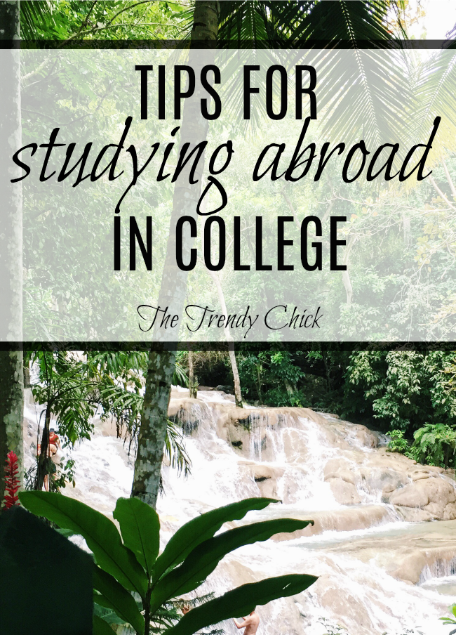 Tips For Studying Abroad In College