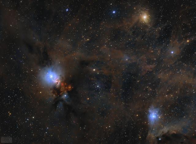 Bụi sao trong Đám mây Phân tử Pegasus. Hình ảnh: Lorand Fenyes.