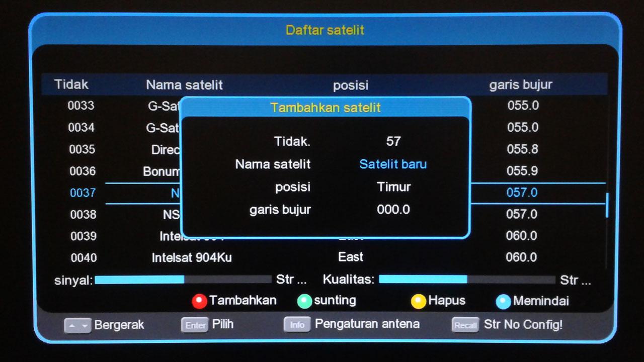 Cara Menambah Satelit Di Getmecom HD5 Robocop