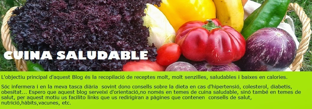 CUINA SALUDABLE