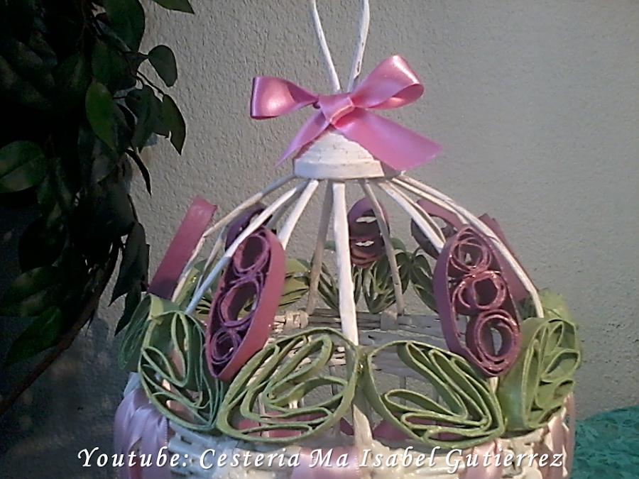 adornos de cartón flores de cartón manualidades con tubos de papel