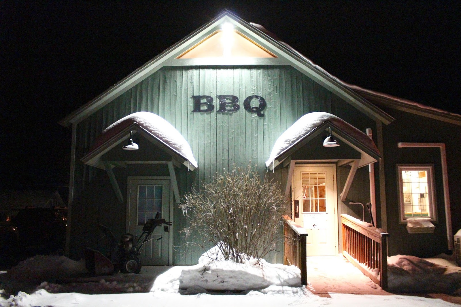 Black Diamond BBQ Stowe VT