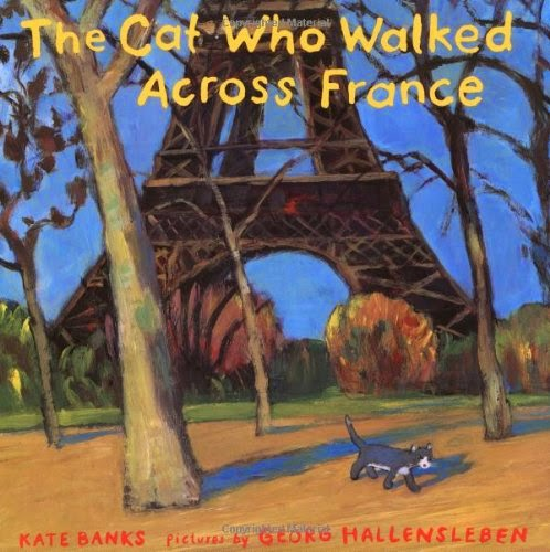 The Cat Who Walked Across France, part of children's book review list about France