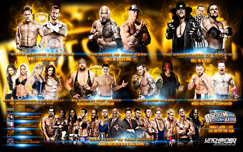Download the new road to wrestlemania 28: wrestlemania 28.