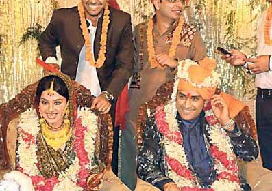 Cool Sports Information Dhoni Marriage Photos Short Hairstyles For Black Women Fulllsitofus