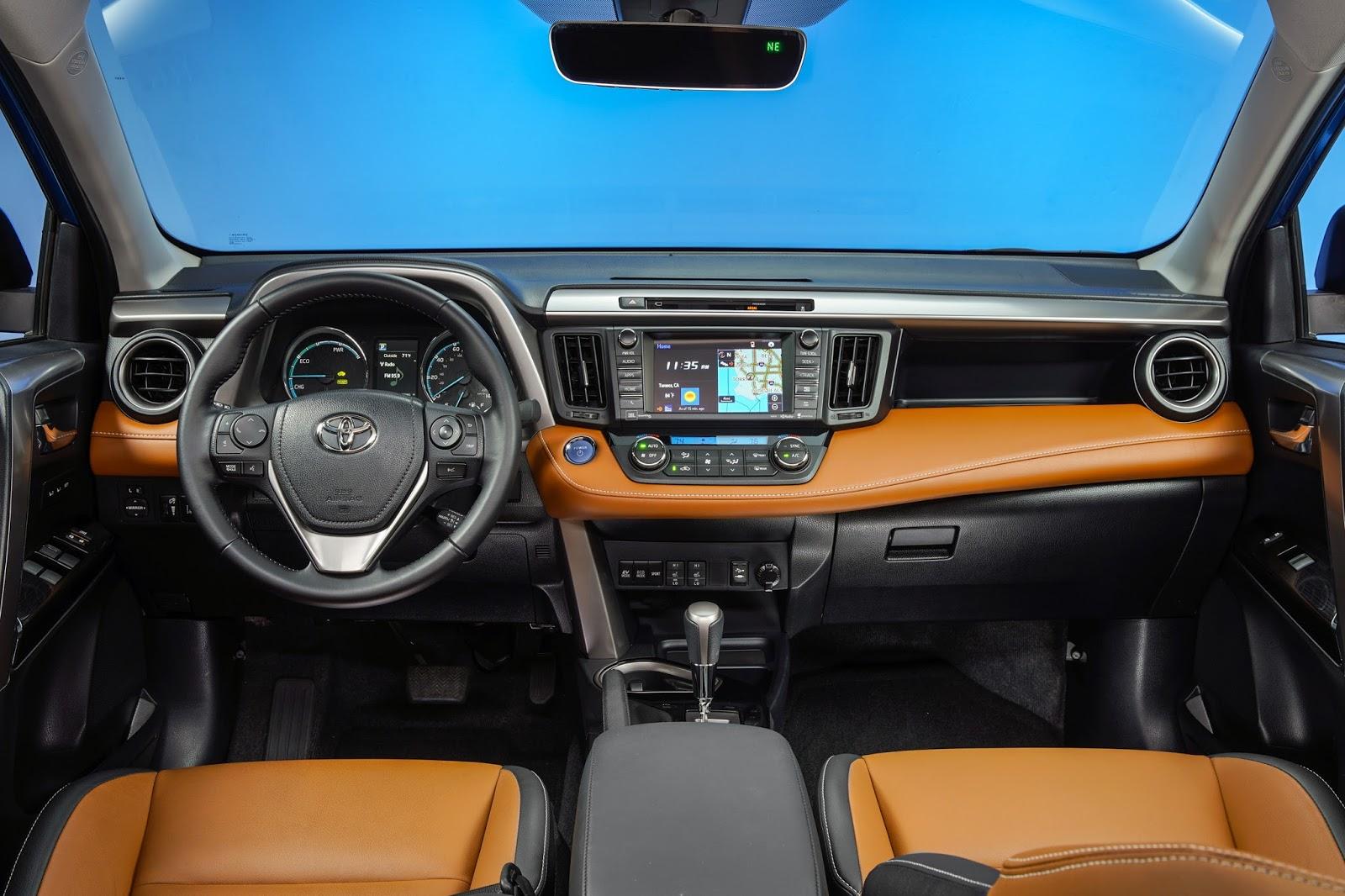 Interior View Of 2018 Toyota Rav4 Platinum