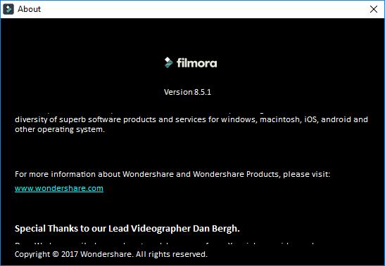 Wondershare Filmora 8.5.1 Crack Serial Key License Code