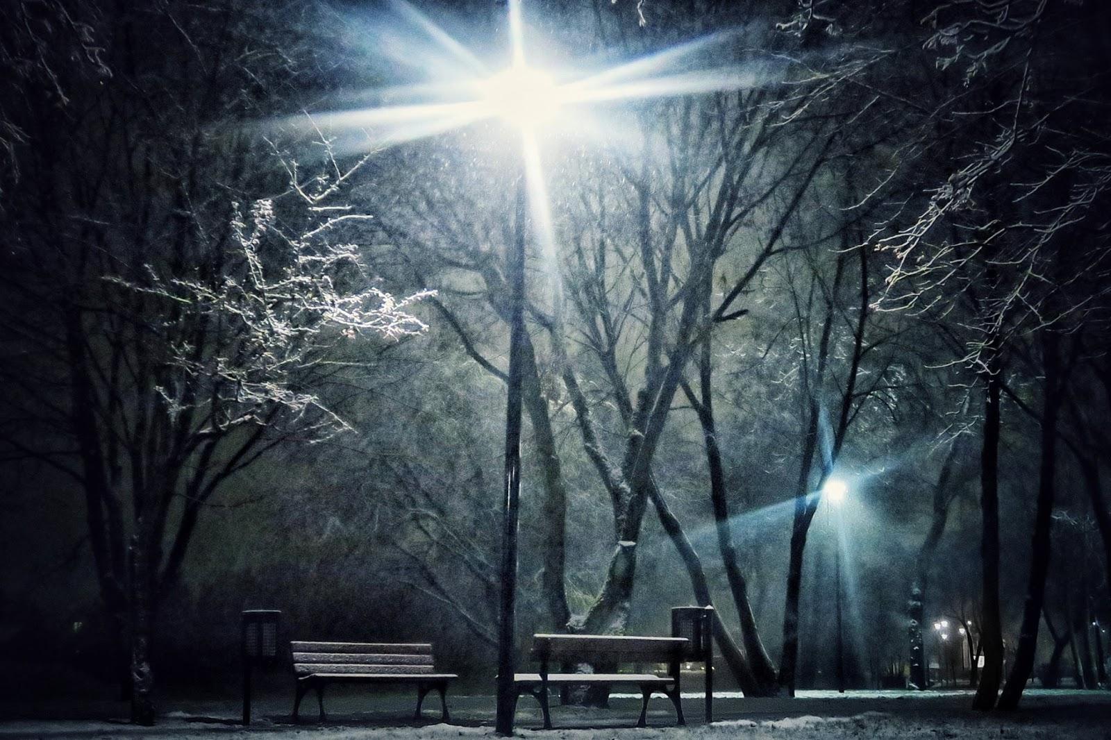 Działdowo. Moje miasteczko w zimowej szacie.