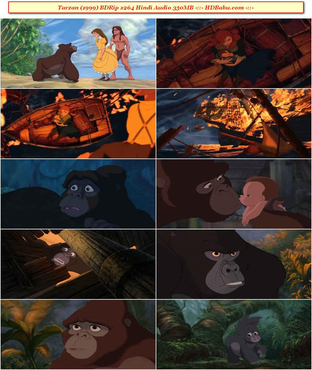 Tarzan Hindi Dubbed Full Movie Download