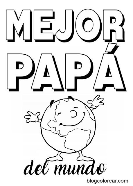 blogcolorear mejor papa del mundo