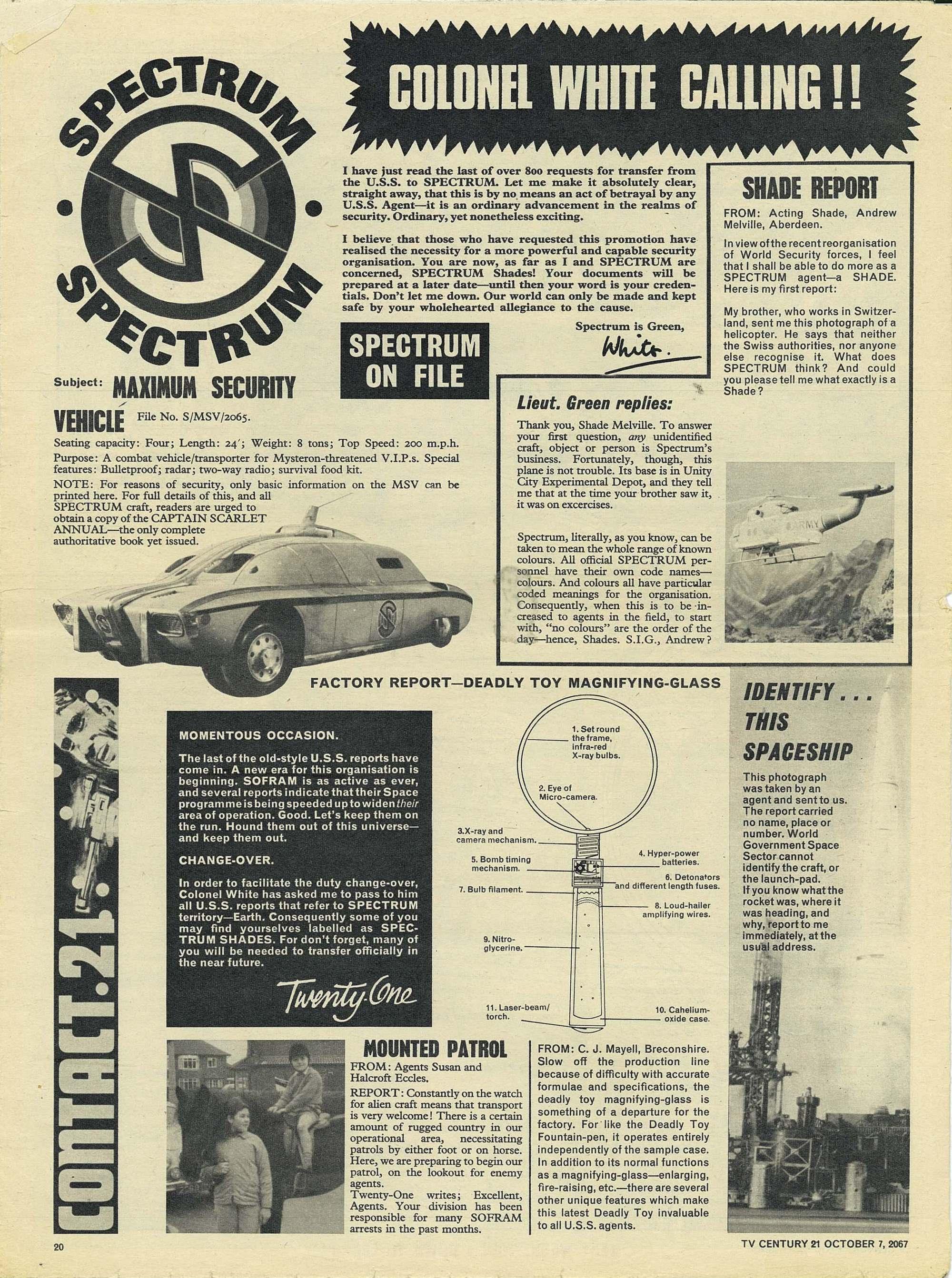 Read online TV Century 21 (TV 21) comic -  Issue #142 - 19