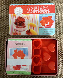 Unboxing - Meine Bonbon Dose Inhalt mit Formen und Rezepten