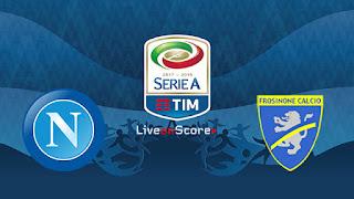 مشاهدة مباراة نابولي وفروسينوني بث مباشر بتاريخ 08-12-2018 الدوري الايطالي