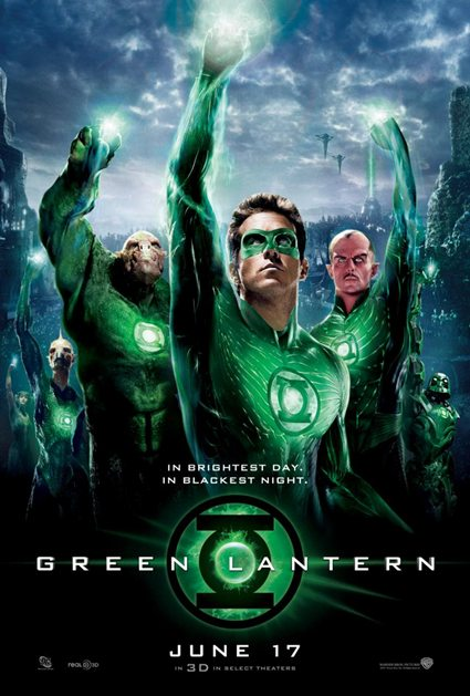 Linterna Verde [The Green Lantern] 2011 BRRip [3D] Español Latino Descargar