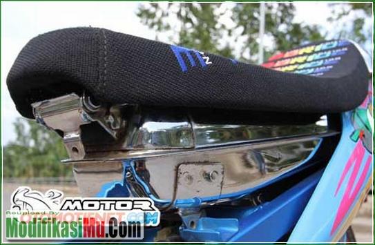 Tangki Bensin Di Cat Krom Mewah - Cara Modifikasi Suzuki Satria F150 Ala Street Racing Velg Jari Jari