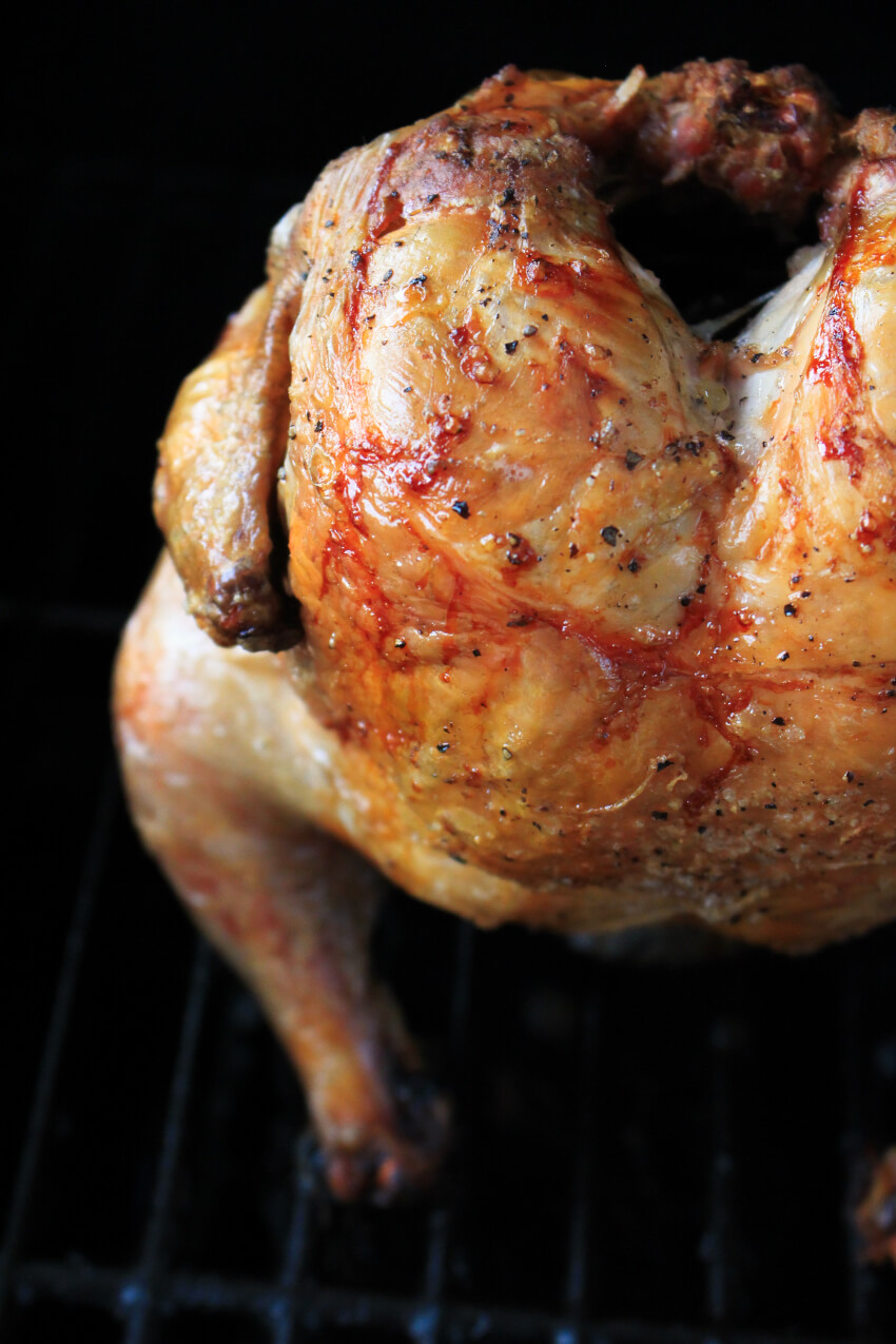 Grilled Beer Can Chicken turns out juicy and tender every time and is one of the easiest ways to grill a whole chicken!  #grilledchicken #chickenrecipes #grilling